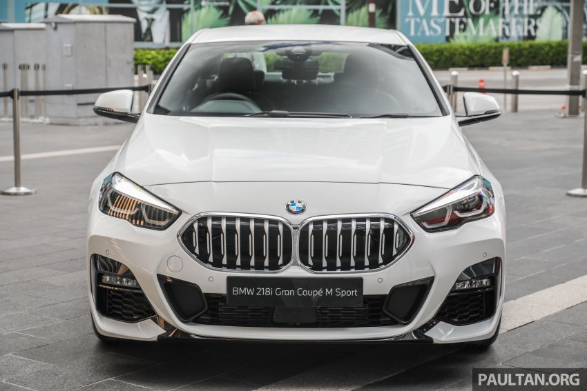 F44 BMW 2 Series Gran Coupé launched in Malaysia – CKD 218i M Sport with 140 PS/220 Nm, RM211,367 Image #1189835