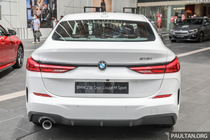 F44 BMW 2 Series Gran Coupé launched in Malaysia – CKD 218i M Sport with 140 PS/220 Nm, RM211,367 Image #1189836