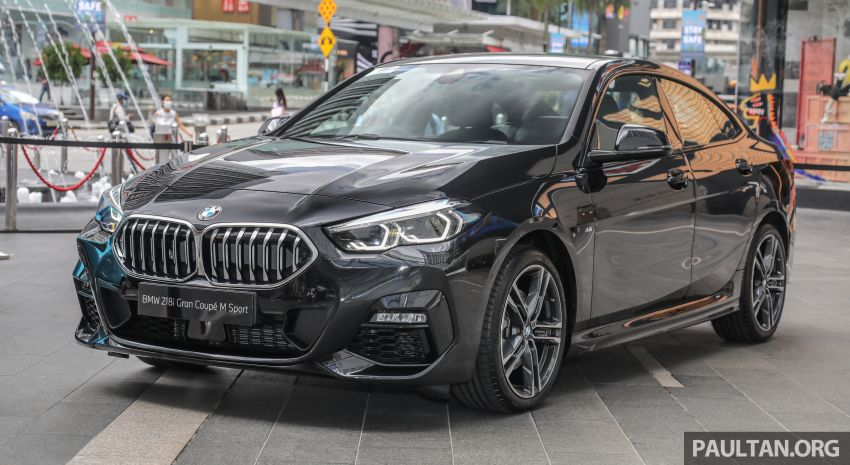 F44 BMW 2 Series Gran Coupé launched in Malaysia – CKD 218i M Sport with 140 PS/220 Nm, RM211,367 Image #1189837