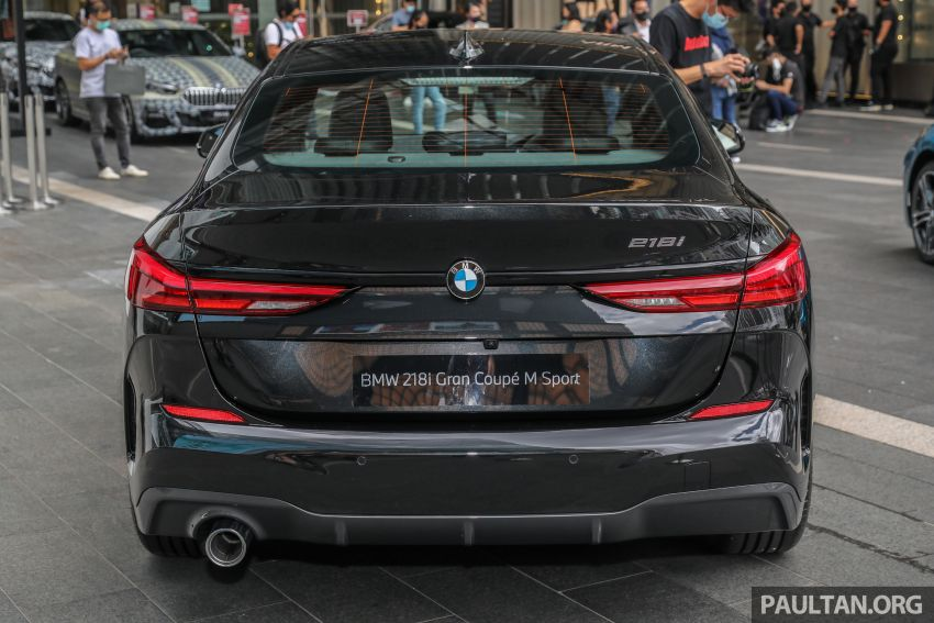 F44 BMW 2 Series Gran Coupé launched in Malaysia – CKD 218i M Sport with 140 PS/220 Nm, RM211,367 Image #1189841