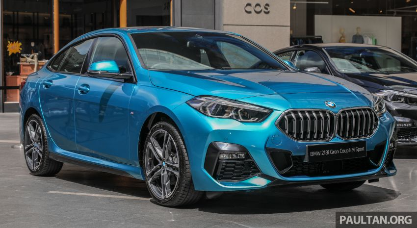 F44 BMW 2 Series Gran Coupé launched in Malaysia – CKD 218i M Sport with 140 PS/220 Nm, RM211,367 Image #1189745