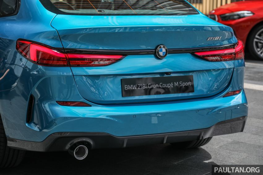 F44 BMW 2 Series Gran Coupé launched in Malaysia – CKD 218i M Sport with 140 PS/220 Nm, RM211,367 Image #1189765