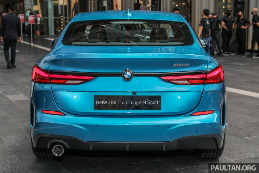 F44 BMW 2 Series Gran Coupé launched in Malaysia – CKD 218i M Sport with 140 PS/220 Nm, RM211,367 Image #1189767