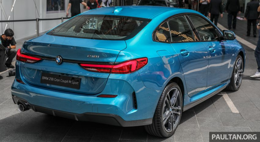 F44 BMW 2 Series Gran Coupé launched in Malaysia – CKD 218i M Sport with 140 PS/220 Nm, RM211,367 Image #1189746
