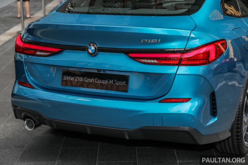 F44 BMW 2 Series Gran Coupé launched in Malaysia – CKD 218i M Sport with 140 PS/220 Nm, RM211,367 Image #1189768