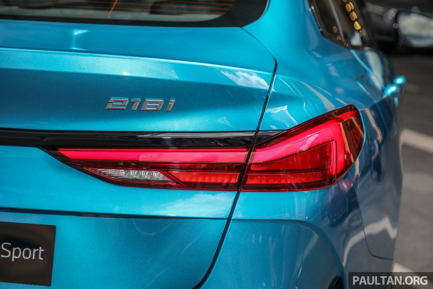 F44 BMW 2 Series Gran Coupé launched in Malaysia – CKD 218i M Sport with 140 PS/220 Nm, RM211,367 Image #1189769