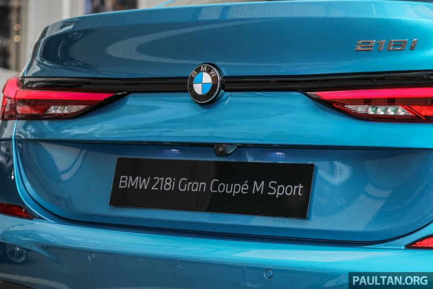 F44 BMW 2 Series Gran Coupé launched in Malaysia – CKD 218i M Sport with 140 PS/220 Nm, RM211,367 Image #1189773