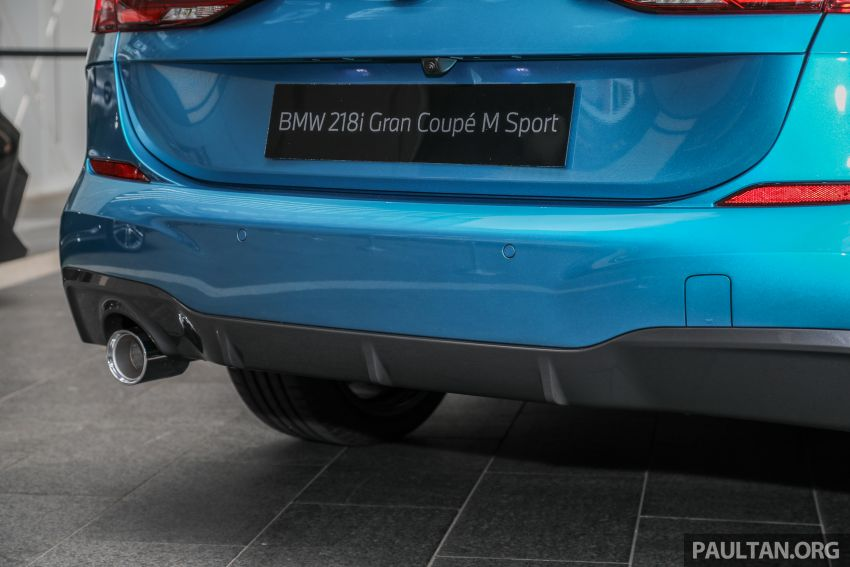 F44 BMW 2 Series Gran Coupé launched in Malaysia – CKD 218i M Sport with 140 PS/220 Nm, RM211,367 Image #1189774