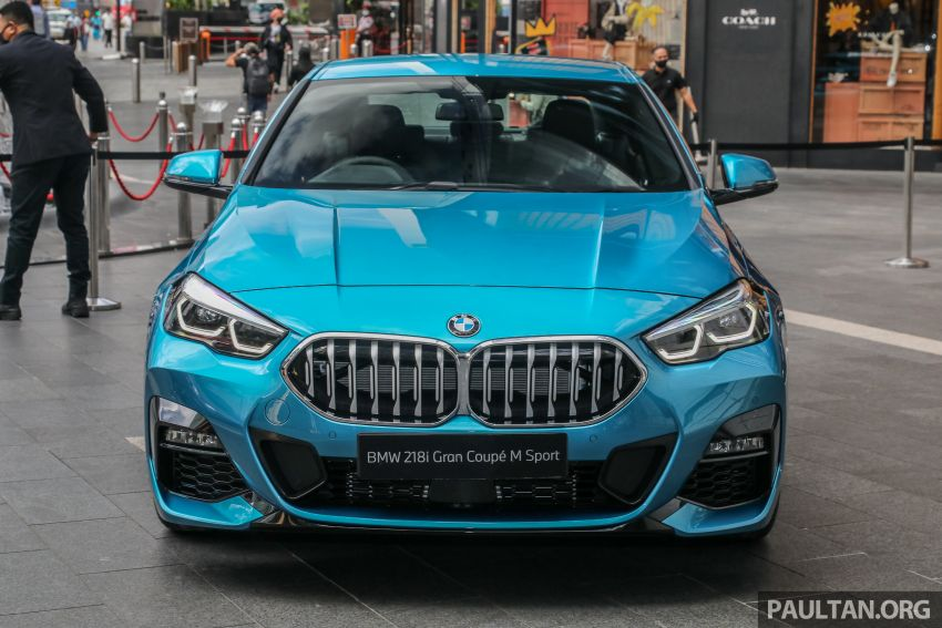 F44 BMW 2 Series Gran Coupé launched in Malaysia – CKD 218i M Sport with 140 PS/220 Nm, RM211,367 Image #1189748
