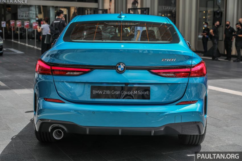 F44 BMW 2 Series Gran Coupé launched in Malaysia – CKD 218i M Sport with 140 PS/220 Nm, RM211,367 Image #1189749