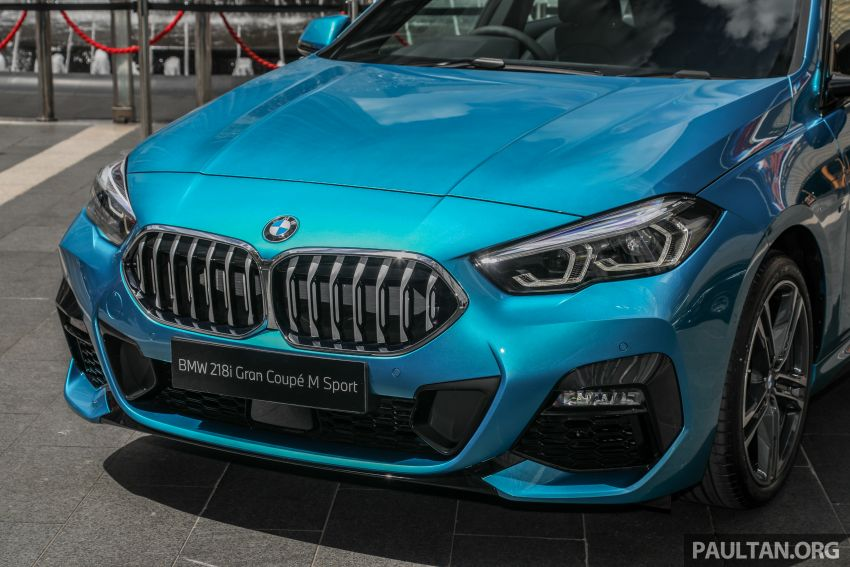 F44 BMW 2 Series Gran Coupé launched in Malaysia – CKD 218i M Sport with 140 PS/220 Nm, RM211,367 Image #1189750