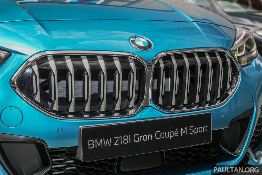 F44 BMW 2 Series Gran Coupé launched in Malaysia – CKD 218i M Sport with 140 PS/220 Nm, RM211,367 Image #1189754