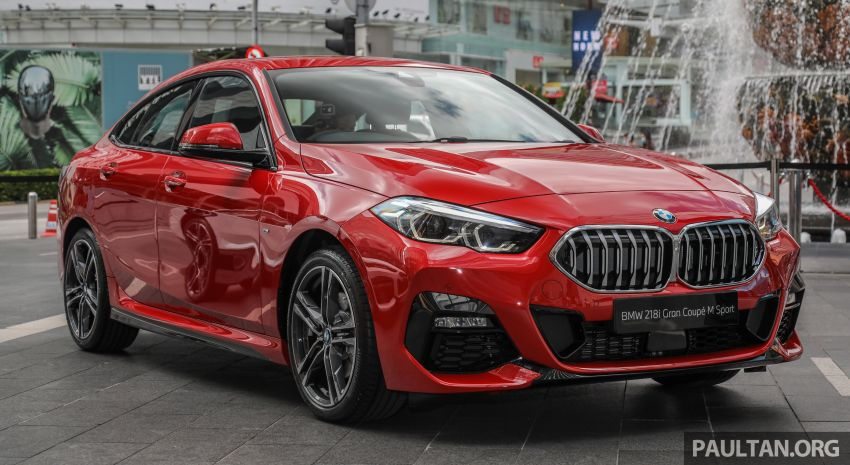 F44 BMW 2 Series Gran Coupé launched in Malaysia – CKD 218i M Sport with 140 PS/220 Nm, RM211,367 Image #1189842