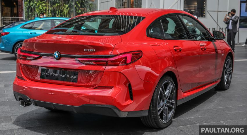 F44 BMW 2 Series Gran Coupé launched in Malaysia – CKD 218i M Sport with 140 PS/220 Nm, RM211,367 Image #1189844