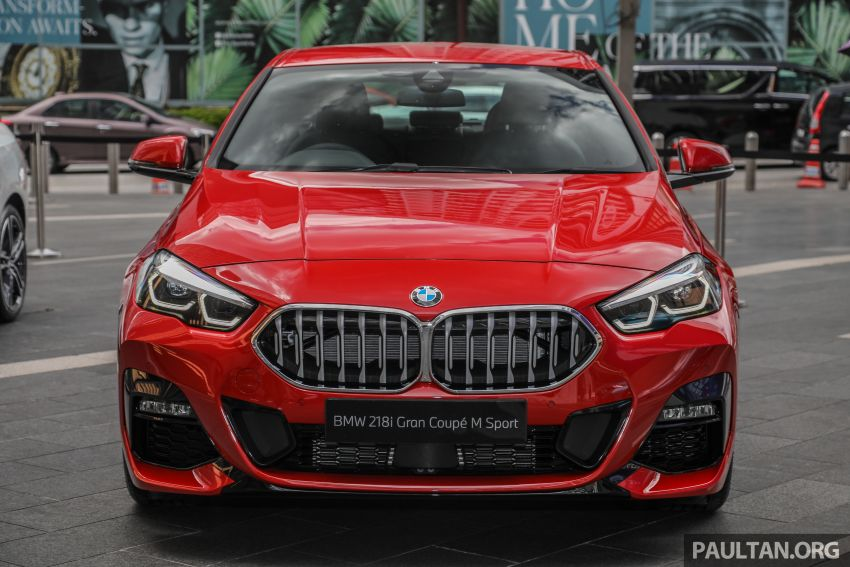F44 BMW 2 Series Gran Coupé launched in Malaysia – CKD 218i M Sport with 140 PS/220 Nm, RM211,367 Image #1189846