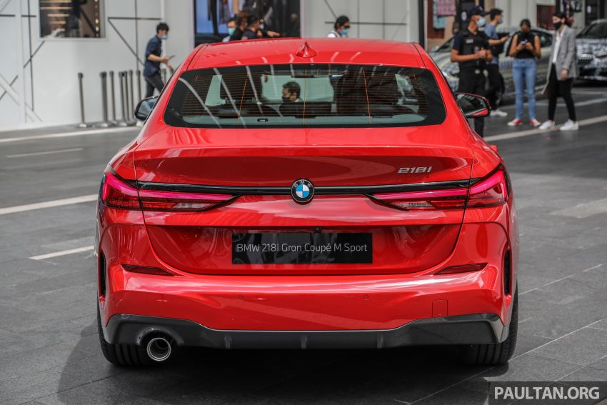 F44 BMW 2 Series Gran Coupé launched in Malaysia – CKD 218i M Sport with 140 PS/220 Nm, RM211,367 Image #1189847