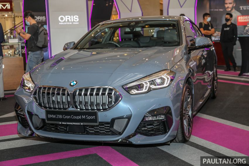 F44 BMW 2 Series Gran Coupé launched in Malaysia – CKD 218i M Sport with 140 PS/220 Nm, RM211,367 Image #1189848