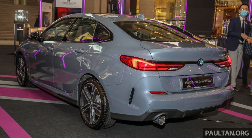 F44 BMW 2 Series Gran Coupé launched in Malaysia – CKD 218i M Sport with 140 PS/220 Nm, RM211,367 Image #1189851