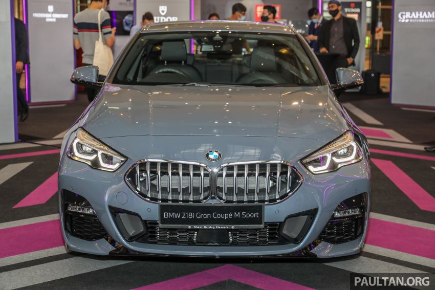 F44 BMW 2 Series Gran Coupé launched in Malaysia – CKD 218i M Sport with 140 PS/220 Nm, RM211,367 Image #1189856