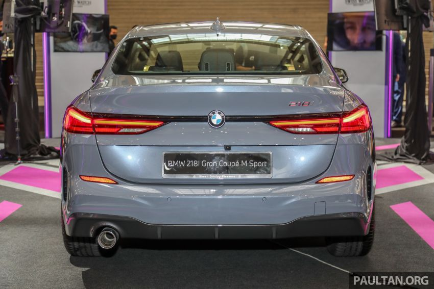 F44 BMW 2 Series Gran Coupé launched in Malaysia – CKD 218i M Sport with 140 PS/220 Nm, RM211,367 Image #1189859
