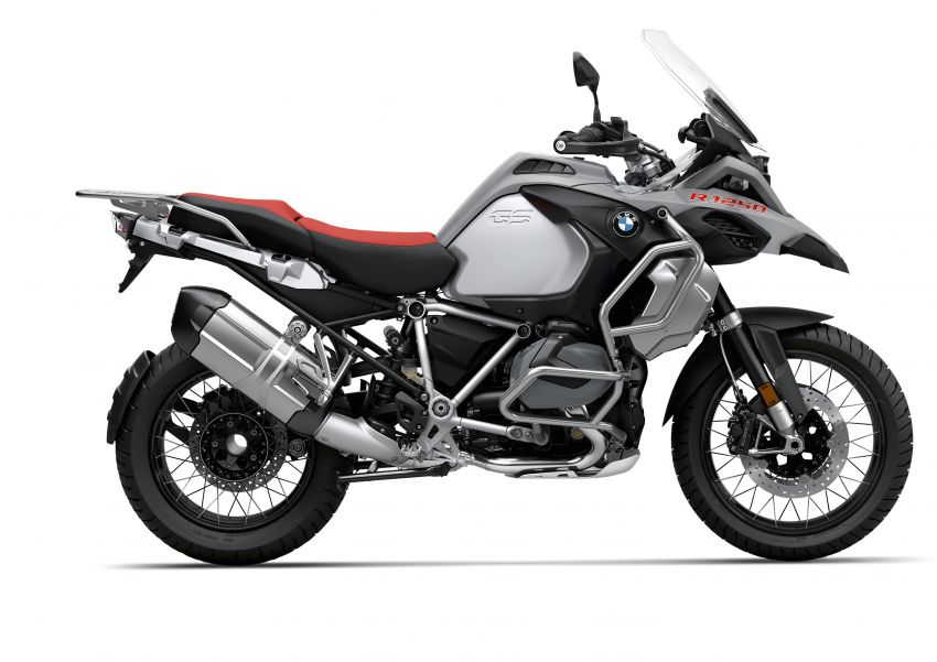 40 years of the BMW GS: 2020 BMW Motorrad 1250 GS and 1250 GS Adventure, 136 hp, 143 Nm torque Image #1187794