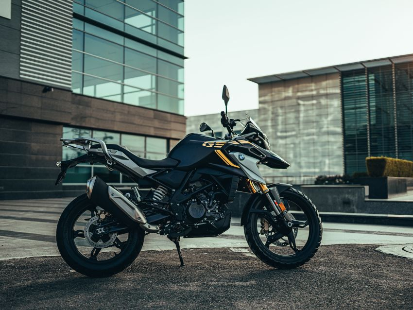 2020 BMW Motorrad G310GS facelift – updated with LED lighting, adjustable levers, new paint schemes Image #1187517