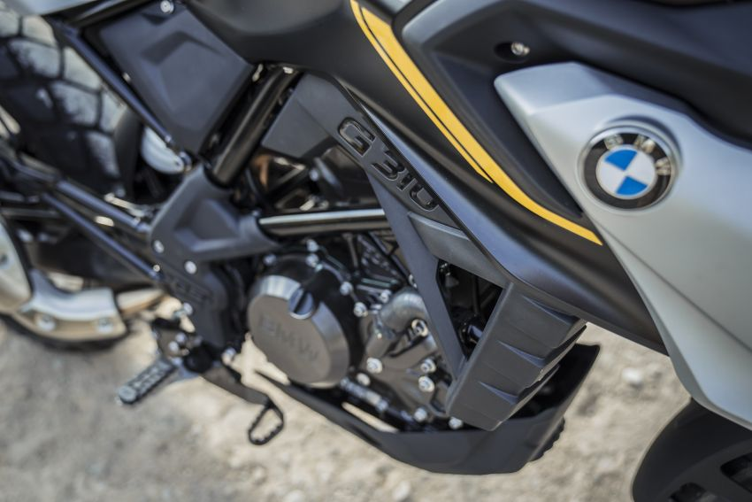 2020 BMW Motorrad G310GS facelift – updated with LED lighting, adjustable levers, new paint schemes Image #1187507