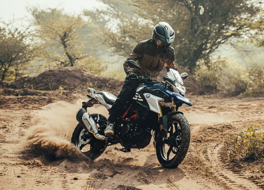 2020 BMW Motorrad G310GS facelift – updated with LED lighting, adjustable levers, new paint schemes Image #1187513