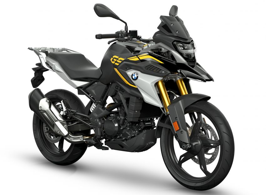 2020 BMW Motorrad G310GS facelift – updated with LED lighting, adjustable levers, new paint schemes Image #1187520