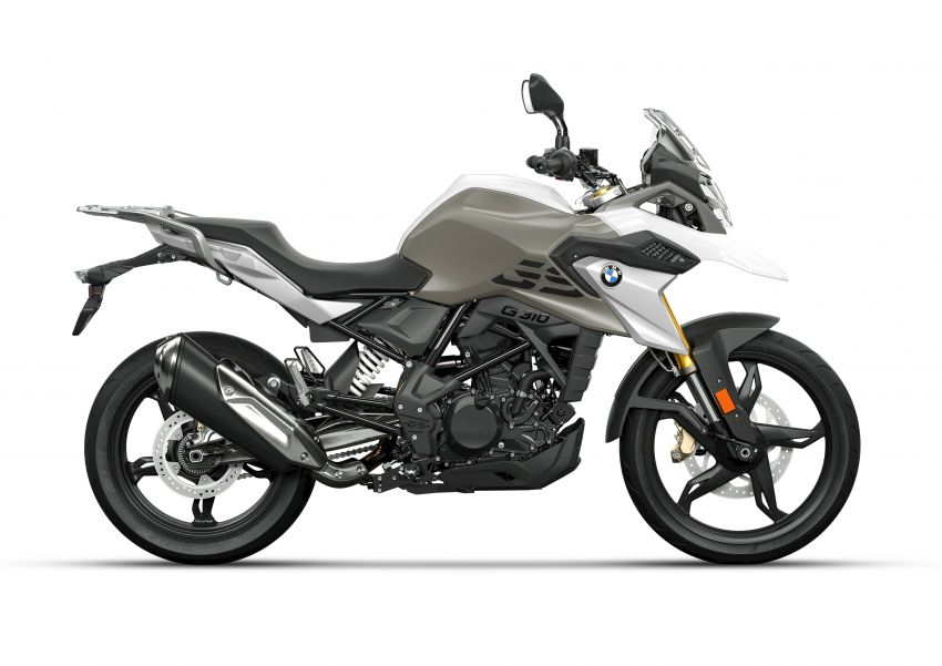 2020 BMW Motorrad G310GS facelift – updated with LED lighting, adjustable levers, new paint schemes Image #1187533
