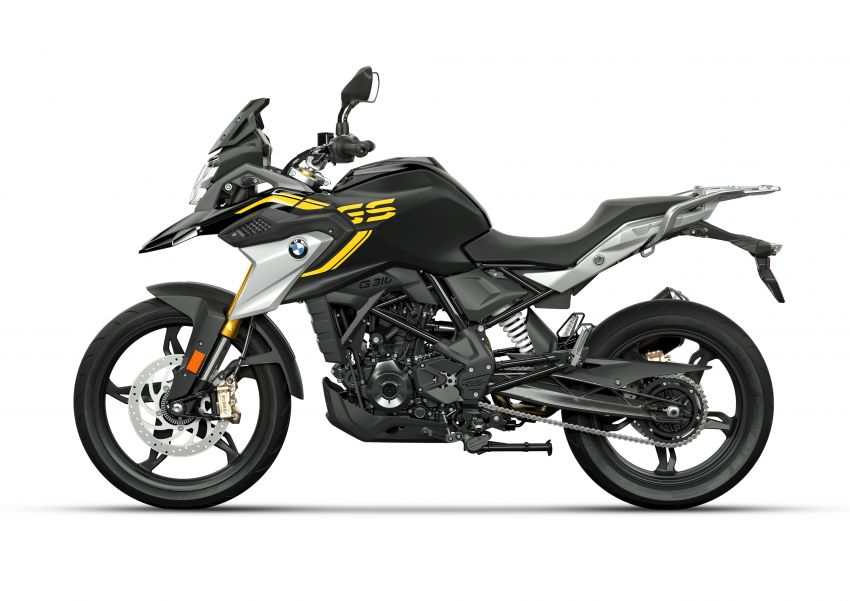 2020 BMW Motorrad G310GS facelift – updated with LED lighting, adjustable levers, new paint schemes Image #1187523
