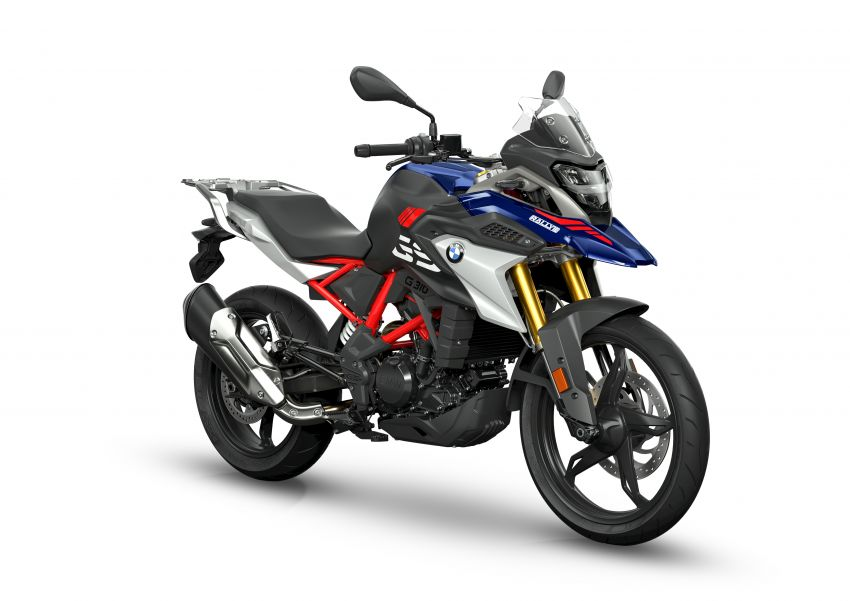 2020 BMW Motorrad G310GS facelift – updated with LED lighting, adjustable levers, new paint schemes Image #1187525