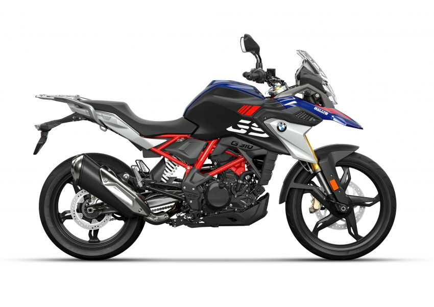 2020 BMW Motorrad G310GS facelift – updated with LED lighting, adjustable levers, new paint schemes Image #1187528