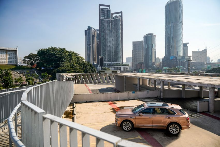 FIRST DRIVE: 2020 Bentley Bentayga V8 FL in M'sia Image #1188506