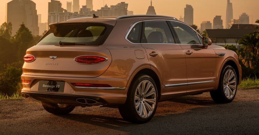 FIRST DRIVE: 2020 Bentley Bentayga V8 FL in M'sia Image #1188485