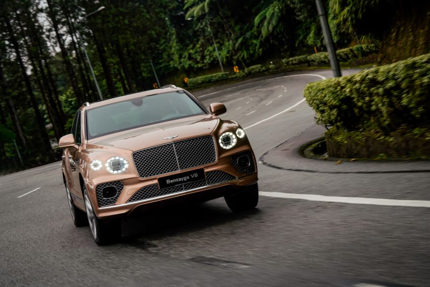 FIRST DRIVE: 2020 Bentley Bentayga V8 FL in M'sia Image #1188593