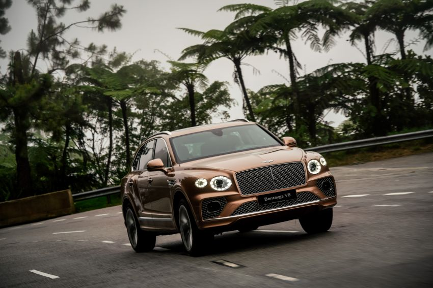 FIRST DRIVE: 2020 Bentley Bentayga V8 FL in M'sia Image #1188594
