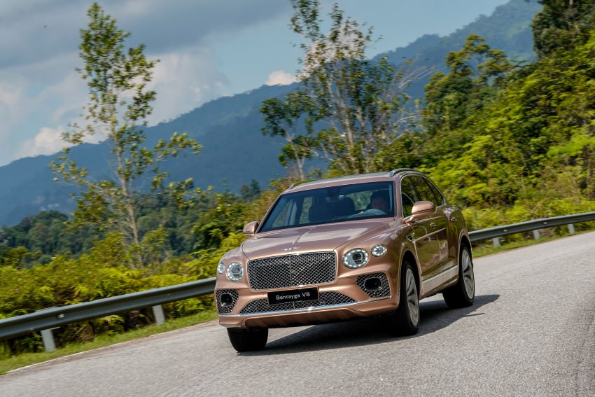 FIRST DRIVE: 2020 Bentley Bentayga V8 FL in M'sia Image #1188599