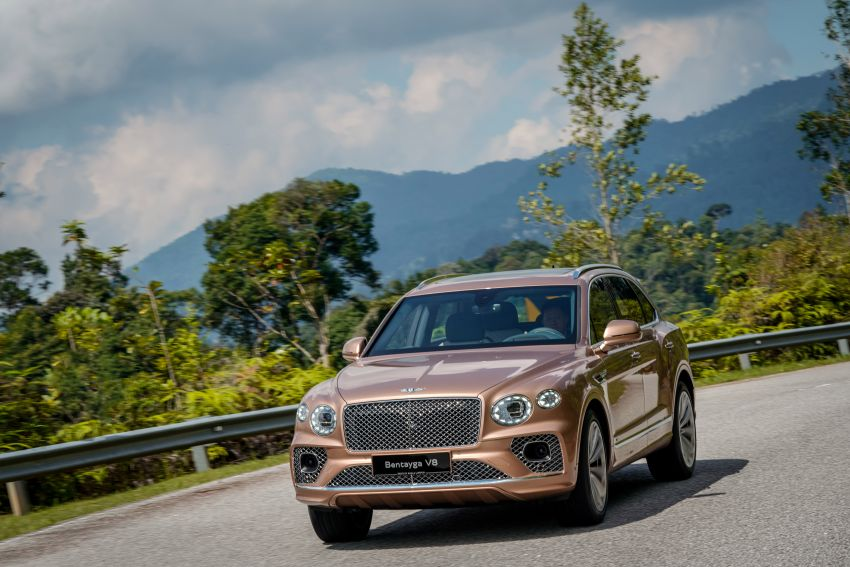 FIRST DRIVE: 2020 Bentley Bentayga V8 FL in M'sia Image #1188600