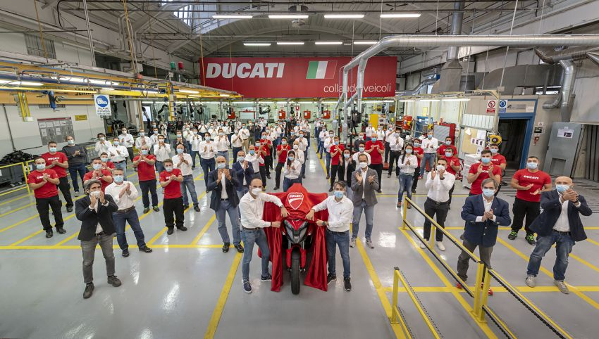 2020 Ducati Multistrada V4 to come with front and rear radar – public presentation on November fourth Image #1188742