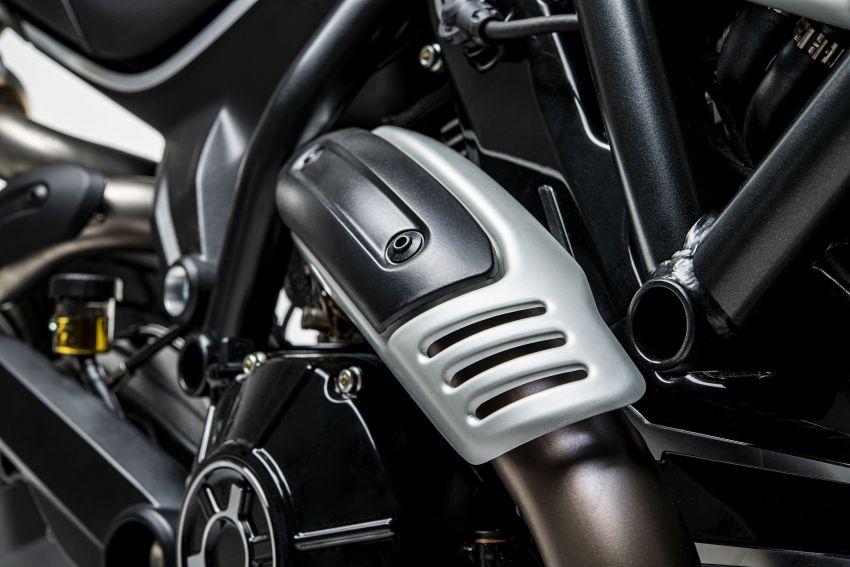2020 Ducati Scrambler 1100 Dark Pro in Europe in Oct Image #1190520