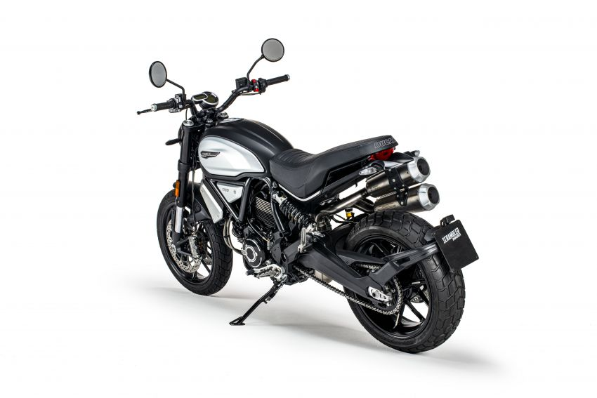 2020 Ducati Scrambler 1100 Dark Pro in Europe in Oct Image #1190535