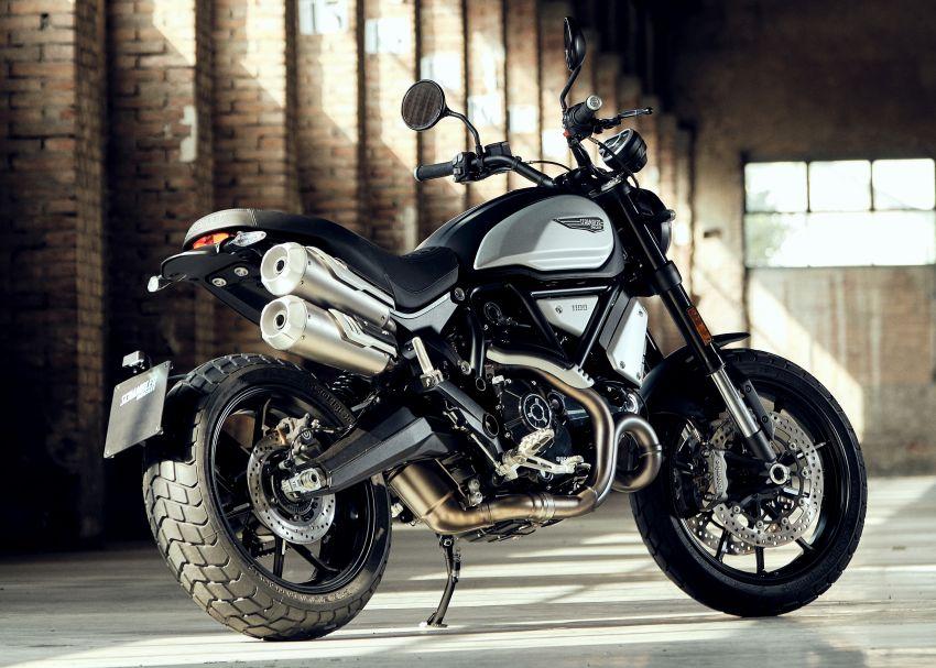2020 Ducati Scrambler 1100 Dark Pro in Europe in Oct Image #1190537