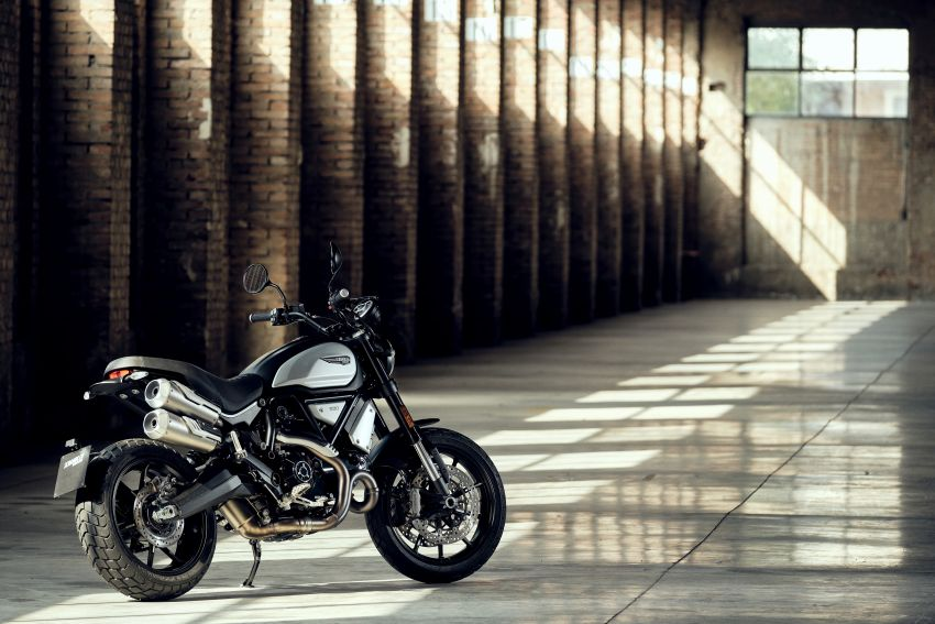 2020 Ducati Scrambler 1100 Dark Pro in Europe in Oct Image #1190538