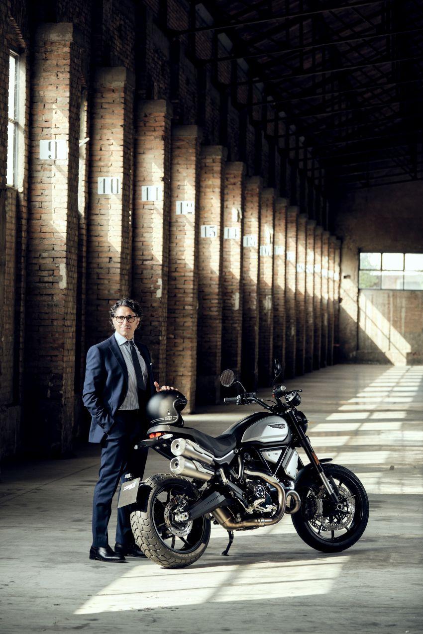 2020 Ducati Scrambler 1100 Dark Pro in Europe in Oct Image #1190539