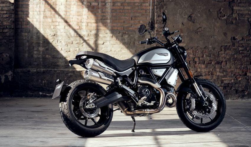 2020 Ducati Scrambler 1100 Dark Pro in Europe in Oct Image #1190540