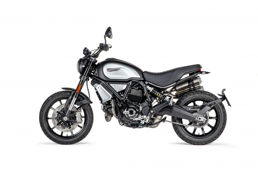 2020 Ducati Scrambler 1100 Dark Pro in Europe in Oct Image #1190543