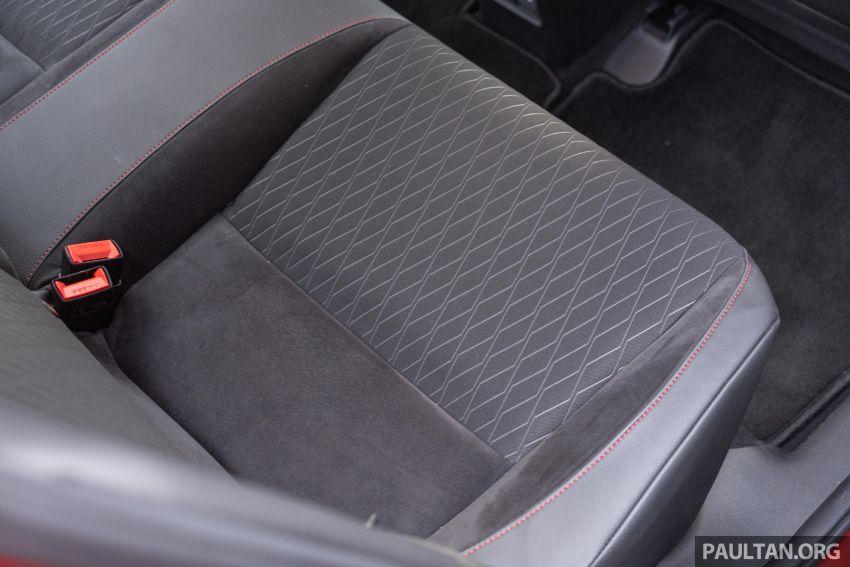 Honda City 2020 generasi kelima dilancarkan — empat varian, RS e:HEV, Honda Sensing; harga dari RM74k Image #1191276