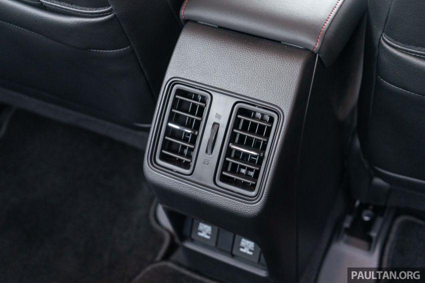 Honda City 2020 generasi kelima dilancarkan — empat varian, RS e:HEV, Honda Sensing; harga dari RM74k Image #1191277