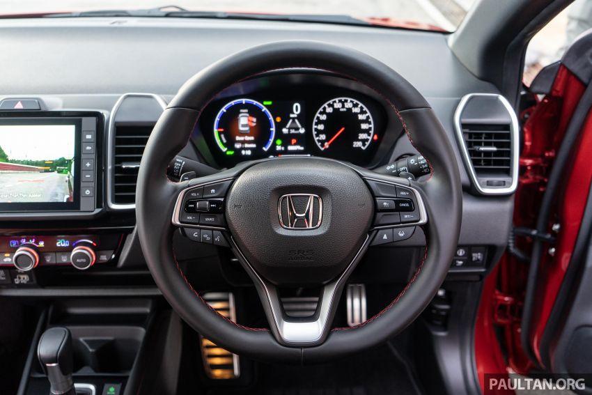 Honda City 2020 generasi kelima dilancarkan — empat varian, RS e:HEV, Honda Sensing; harga dari RM74k Image #1191267